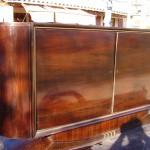 enfilade sideboard en palissandre des indes/art deco sideboard rosewood