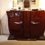 Buffet ou petite enfilade sideboard en palissandre des Indes/art deco sidboard rosewood sold