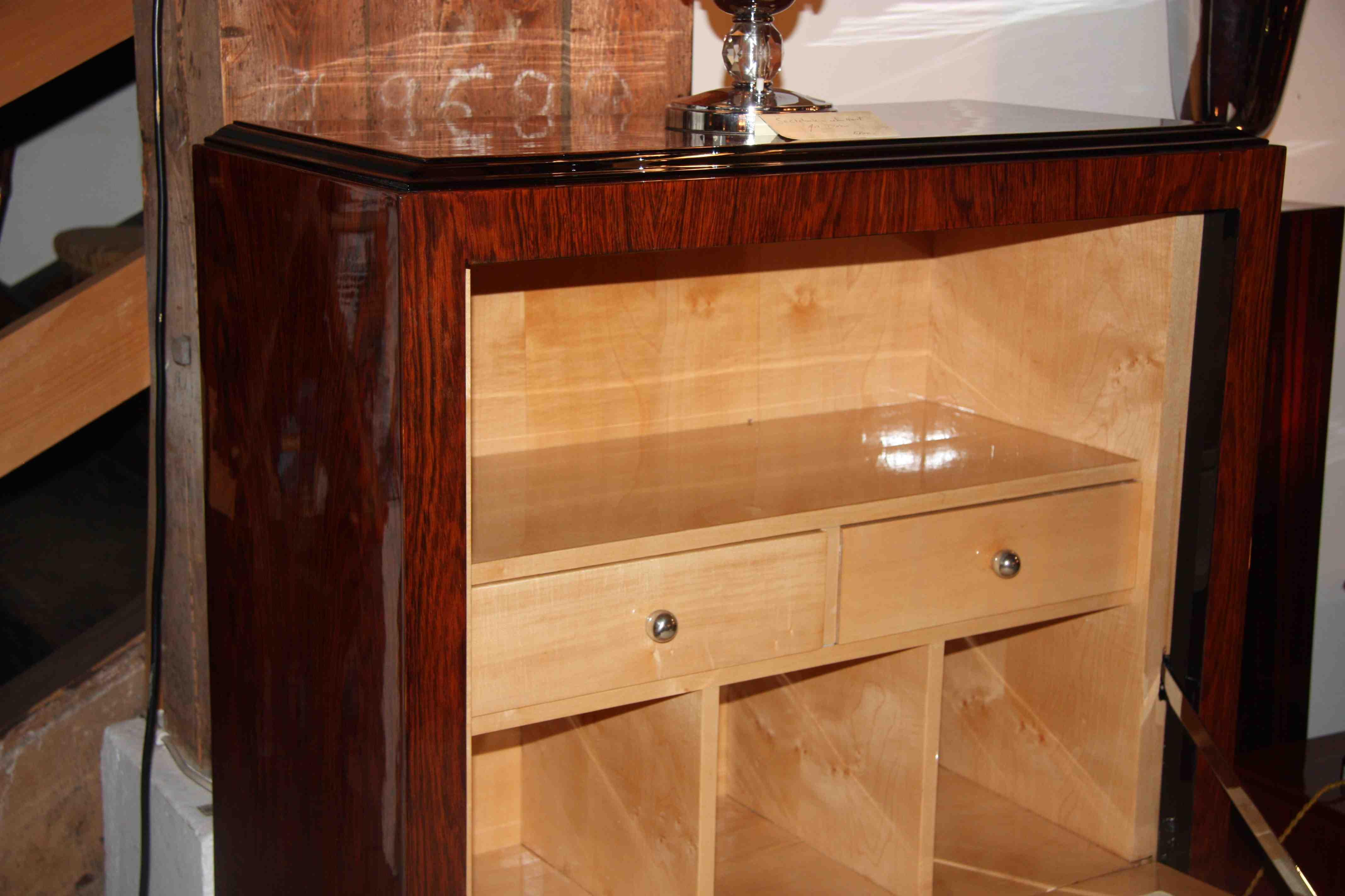 secr taire seretaries abattant art deco en palissandre de rio esprit art d co vente meubles. Black Bedroom Furniture Sets. Home Design Ideas