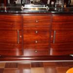 Enfilade sideboard en palissandre de rio ref enf : 16 /art deco sideboard rosewood