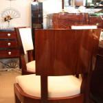 8 Chaises,chairs art déco en palissandre des indes/art deco dining room chair rosewood VENDU /SOLD