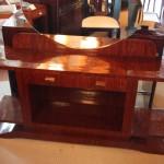 Coiffeuse,Vanity dresser art deco en palissandre de Santos