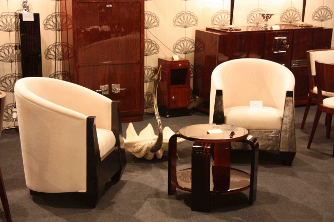 Paire de fauteuil art deco en corne,armchair VENDU/SOLD