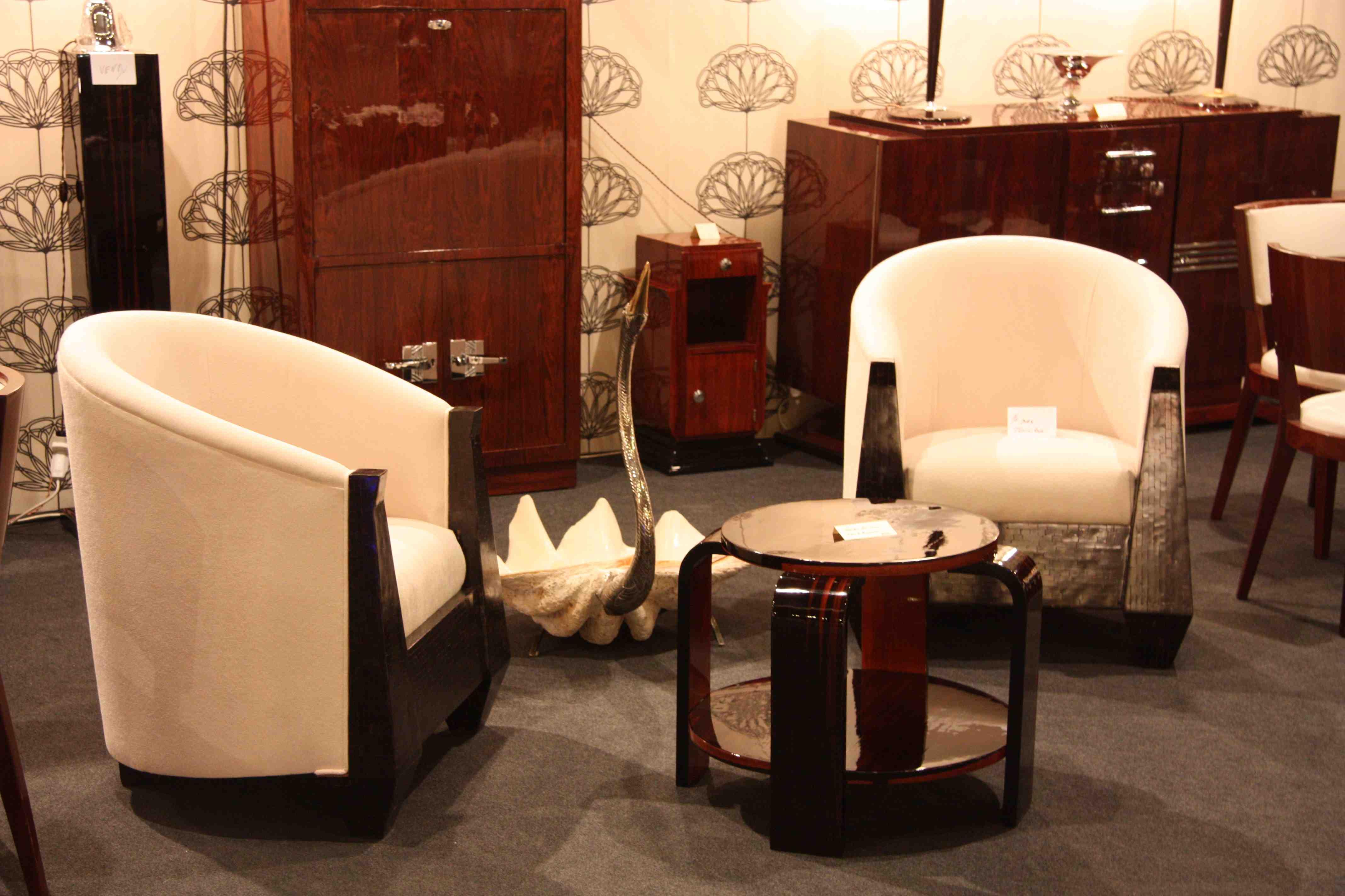 paire de fauteuil art deco en corne armchair vendu sold esprit art d co vente meubles art d co. Black Bedroom Furniture Sets. Home Design Ideas