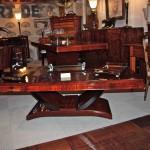 Table basse art déco en palissandre des indes,dinning room table
