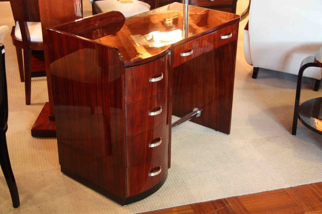 Bureau,Desks art deco rosewood