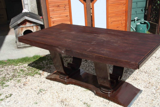 Grande table art déco/art deco dining room rosewood