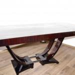 Table art déco en ébène de Makassar/Art Deco dining  room table makassar VENDU