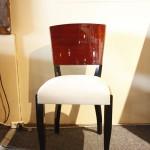 Chaises art déco en palissandre des indes/art deco chairs rosewood