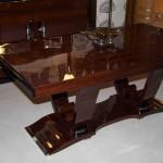 Table art deco à rallonges en palissandre des indes/dining room table art deco palisander VENDU/SOLD