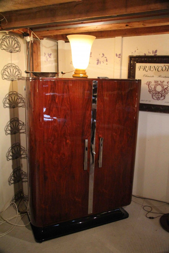Petite armoire art deco/Little dress suite art deco
