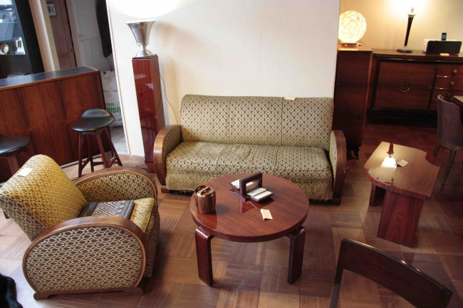 Fauteuils et canapè club art dèco/armchair art deco VENDU /SOLD