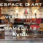 Vernissage magasin ESPACE D ART MORGES