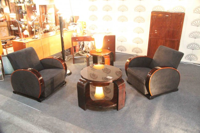 fauteuil club art deco images. Black Bedroom Furniture Sets. Home Design Ideas
