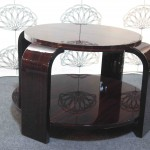 Table basse art deco en ébène de Macassar / Art deco table ebony VENDU