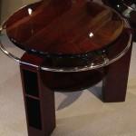 Table basse art deco en palissandre des indes /art deco table in palissender VENDU