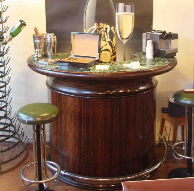 bar art deco en palissandre des indes ref bar 3 esprit. Black Bedroom Furniture Sets. Home Design Ideas