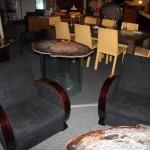 fauteuils art deco ébène de macassar ref sl 2/ armchair art deco macassar