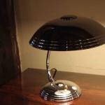 Lampe art deco chromèe ref lam 1