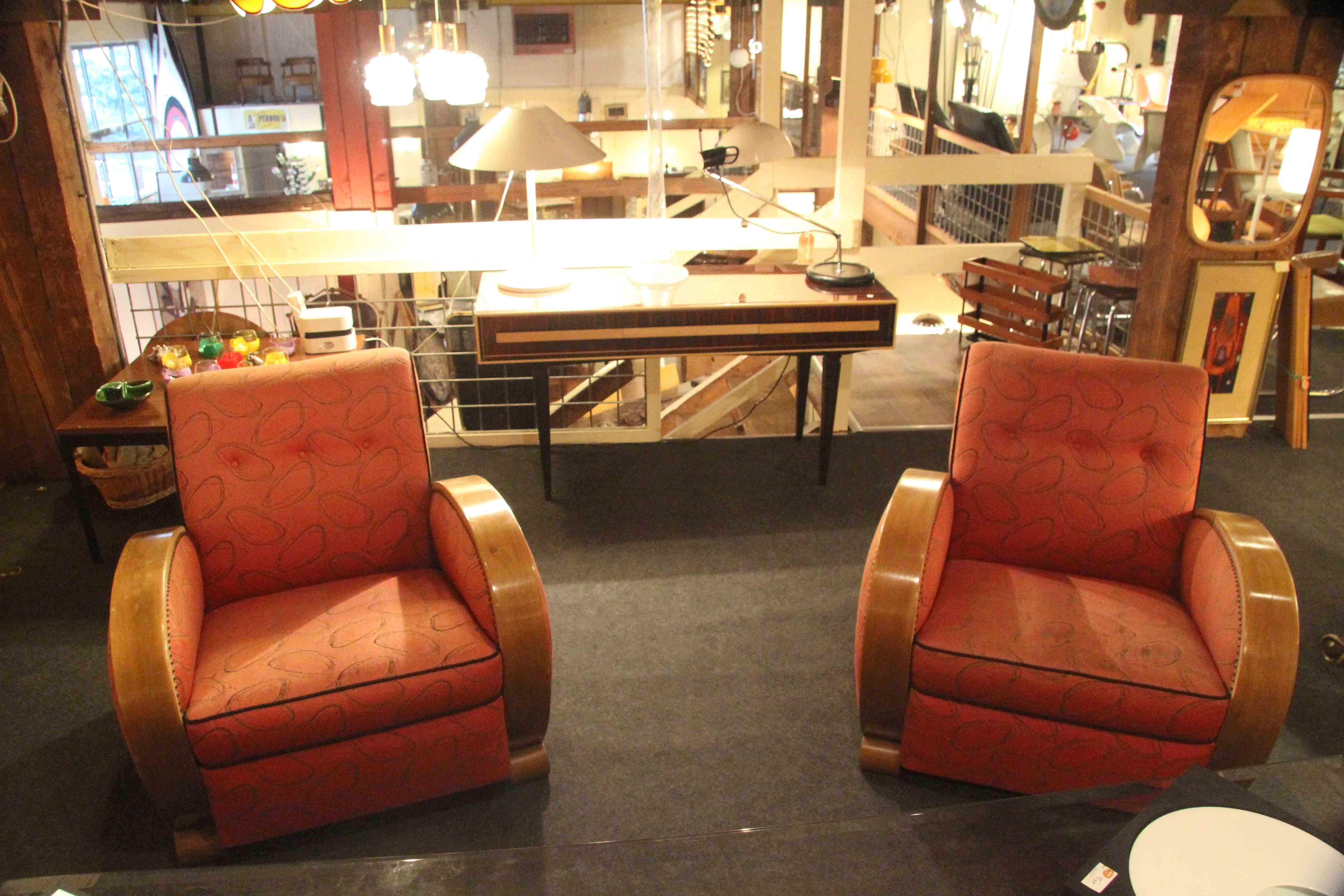 salon art deco deux fauteuils et un canap ref sl 1 esprit art d co vente meubles art d co. Black Bedroom Furniture Sets. Home Design Ideas