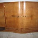 Enflade art deco en palissandre des indes Ref :enf 5 /sideboard art deco palissender