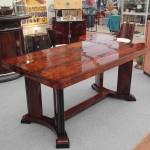 Table art deco en palissandre de Rio Maurice Rink 1935 :VENDUE