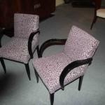 Paires de fauteuils bridge
