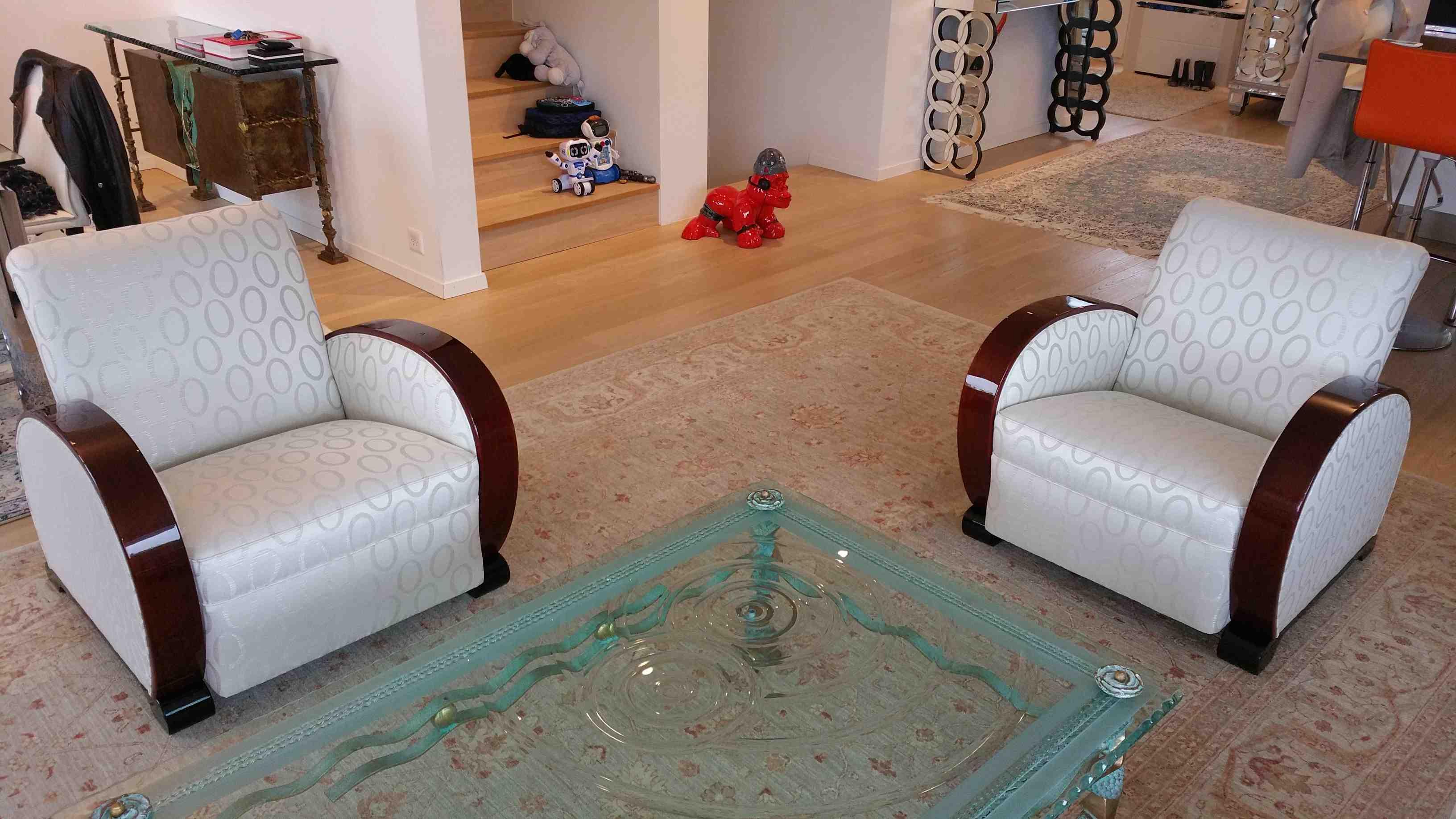 paire de fauteuils art deco en palissandre des indes esprit art d co vente meubles art d co. Black Bedroom Furniture Sets. Home Design Ideas