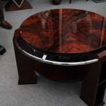 Table basse art deco en noyer ref: tabb 10
