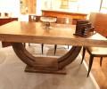Table à rallonges art deco e ébène de Macassar /art deco dinning table macassar