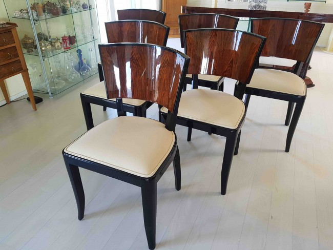Chaises art deco : Vendue