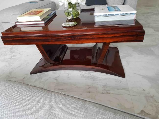 Table basse en palissandre de Rio  ref TAB : 12