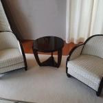 fauteuils art deco ébène de macassar ref faut : 10