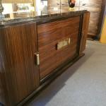 Enfilade ,sideboard Art Deco ébène de Macassar ref : enf 25