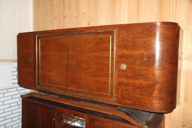 Enfilade,sideboard Art Deco en palissandre de Rio ref: enfi 30