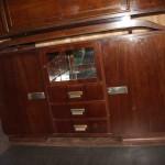Enfilade vitrine art deco palissandre des Indes ref :enf 32