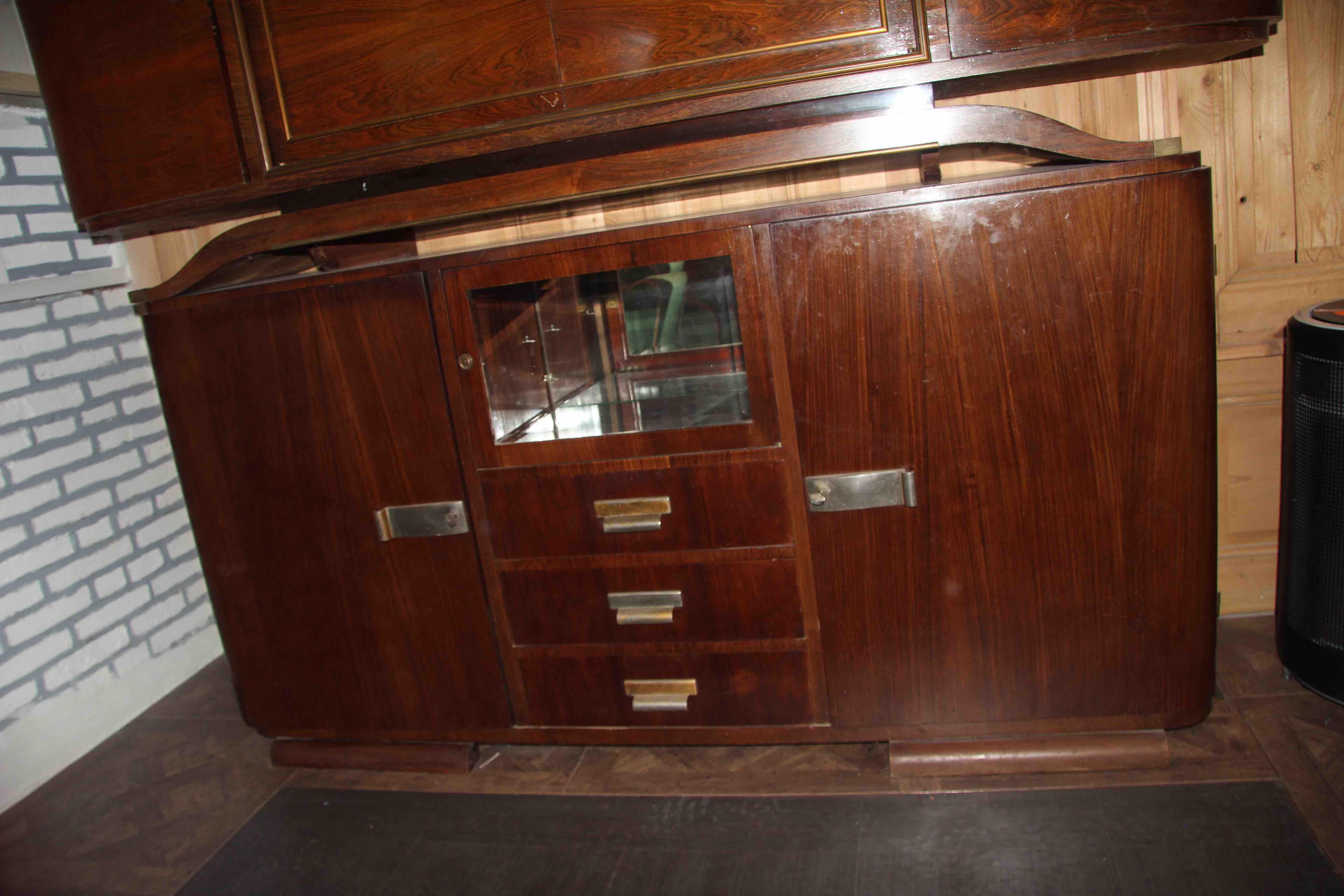 Esprit Art Deco Com vitrine art déco en palissandre 1930 meubles, décoration du