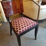 Six Chaises art deco palissandre des Indes ref :ch 20
