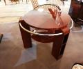 table basse art deco en palissandre de Rio ref tb: 13