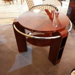table basse art deco en palissandre de Rio ref tb: 13