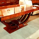 table salle à manger art deco palissandre de Rio  ref tsam : 1