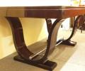 Table de salle à manger art deco en ébène de Macassar /dinning table art deco Macassar