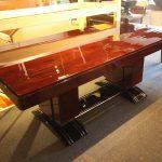 Table de salle manger Art Deco palissandre des Indes
