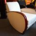 Fauteuil,armchair bolide art deco