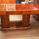 Table art deco palissandre de Rio /dinning table Art Deco